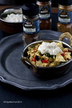 Scrambled Tofu with McCormick Spices