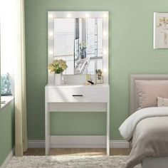 Mercer41 Kern Vanity with Mirror Mercer41