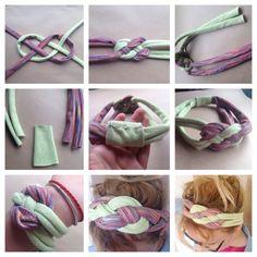 DIY bows, lots of bows! Diy Hair Scrunchies, Diy Hair Bows, Crochet Wreath, Diy Crochet, Diy Hair Accessories Easy, Yarn Bracelets, Sewing Headbands, Diy Crafts For Girls, Diy Headband