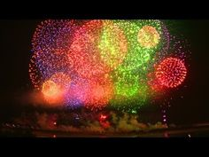 長岡花火大会2012年2日間の総集編 Fireworks the most beautiful in the japan.
