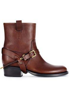 Vachetta Isara Boot - Ralph Lauren Collection Boots - Ralph Lauren France