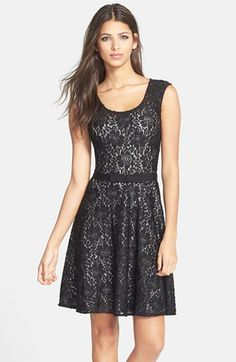 Plenty by Tracy Reese 'Audrey' Lace Fit & Flare Dress available at #Nordstrom