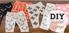12 DIYs to Make Before Baby Comes. ~ Don't have babies, but fabric printing inspiration can come from everywhere :)