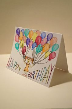 Cool homemade stuff on pinterest happy birthday cards harry potter