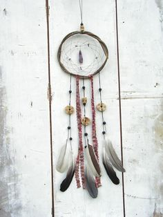 Amethyst Long Native american dream catchers  by WildForestGallery, $42.00