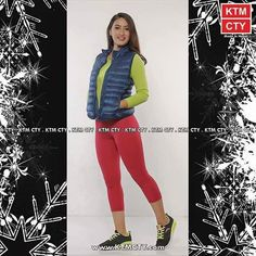 Winter Collection available.  Half Down Jacket: NRs.2999/- Top: NRs. 600/-  Knitted trousers: NRs. 330/- Footwear: Anta Training   Model: Neha Banu