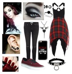 """Idk part 2"" by nightmare-and-daydreams ❤ liked on Polyvore featuring OPI, Paige Denim, Vans, Carolina Glamour Collection, Allurez, Bling Jewelry and Casetify"