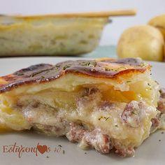 Deliciosa, fácil y rápida de preparar... esta lasaña de patatas con carne te encantará... a ti y a tus hij@s ¡Haz clic aquí para la receta!