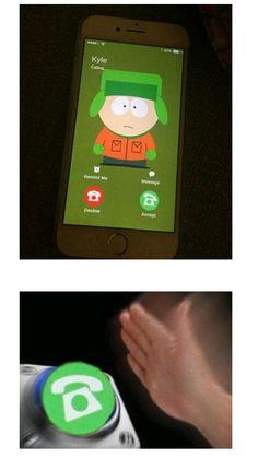 Best Of South Park, South Park Funny, Kyle South Park, South Park Memes, Creek South Park, South Park Anime, South Park Fanart, South Park Quotes, Kyle Broflovski