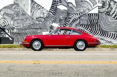 Polo Red 1965 Porsche 911. Maintenance/restoration of old/vintage vehicles: the material for new cogs/casters/gears/pads could be cast polyamide which I (Cast polyamide) can produce. My contact: tatjana.alic@windowslive.com