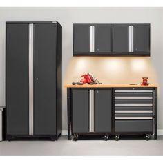 Elegant New Age Pro Garage Cabinets