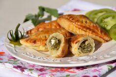 Empanadas aux blettes, aux amandes et aux chénopodes blancs © Popote et Nature