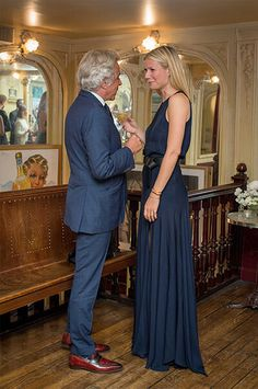 Giancarlo Giametti with Gwyneth Paltrow at the goop & MasterCard Paris Guides dinner