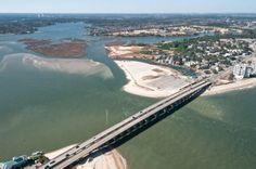 Lesner Bridge over the Lynnhaven Bay in Virginia Beach.