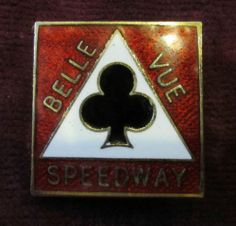 VINTAGE SPEEDWAY ENAMEL BADGE BELLE VUE SPEEDWAY MANCHESTER | eBay Speedway Racing, Altrincham, Rochdale, Salford, Funny Sayings, Pin Badges, F1, Ephemera, Manchester