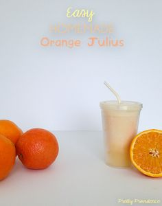 I am so stoked about this recipe! Tastes just like Orange Julius and sooo easy to make! A new breakfast for dinner beverage staple!