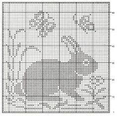 crochet em revista: motivos animais: Cross Stitch Charts, Cross Stitch Designs, Cross Stitch Patterns, Crochet Cross, Thread Crochet, Cross Stitching, Cross Stitch Embroidery, Crochet Patterns Filet, Crochet Filet