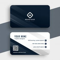Company Business Cards, Elegant Business Cards, Professional Business Cards, Business Card Logo, Business Card Design, Visiting Card Creative, Visiting Card Design, Name Card Design, Theme Template