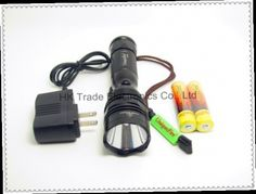 41.39$  Watch now - http://aliekx.worldwells.pw/go.php?t=1294170727 - Cree XM-L U2 1200LM Rechargeable LED Flashlight Searchlight Torch+2x18650 battery + charger(UniqueFire UF-T01)~ 41.39$