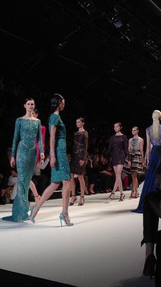 ELIE SAAB (Paris Fashion Week ss2013) by Fernando Mañas. Elie Saab Fashion Show.