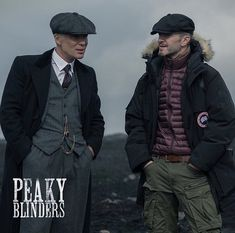 Peaky Blinders - Director Anthony Byrne and Cillian Murphy on the first day of filming / Photo by: Matt Squire 💙 Peaky Blinders Season 5, Steven Knight, Sam Neill, Freaky Deaky, Pretty Men, Cillian Murphy, Historical Fiction, Favorite Tv Shows, Blue Eyes