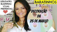 COMPRAS NA 25 DE MARÇO - Decoração| Bijuterias | Utilidades domésticas -...