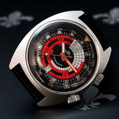 "Mint Condition FORTIS Swiss ""Marinemaster"" Diving Watch Ref. 6237 ETA Cal. 2783"