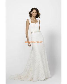 Výsledek obrázku pro svatební šaty s rukávy