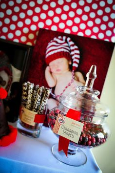 Sock Monkey 1st Birthday Party - Kara's Party Ideas - The Place for All Things Party