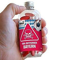 Diese leckerenLakritzstäbchen sollte man allen Bayern-Fans verschreiben, dann sie entfernen das Bayern-Fans-Sein effektiv. Also alle Dortmund-, Schalke- und prinzipiell alle Fußball-Fans aufgepass…