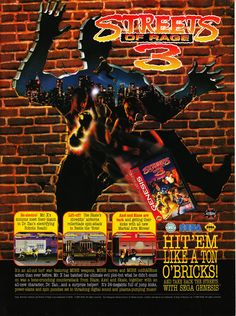 Streets of Rage 3 poster