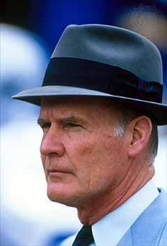 Tom Landry - He was 'The Dallas Cowboys' !