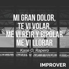 "Por @kaseo_real en su canción 'Boogalo' del disco ""Jazz Magnetism""  #quotes #frases #mejorapersonal #selfimprovement #kaseo #jazzmagnetism #rap #motivacion #motivation #improver Reposted Via @improveroficial"
