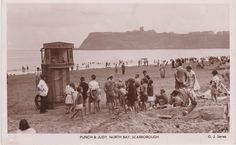 Punch and Judy, North Bay, Scarborough Scarborough England, Punch And Judy, North Yorkshire, Mount Rushmore, Mountains, Places, Period, Travel, Memories