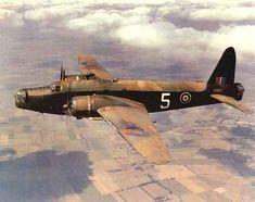 Colourised Vickers Wellington