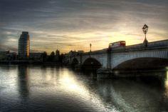 Putney Bridge London Bus, London Bridge, Old London, London Diary, Putney Bridge, London England, Statues, In This Moment, Future