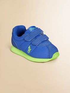 Ralph Lauren Sneakers. This would look good on my 2 bots