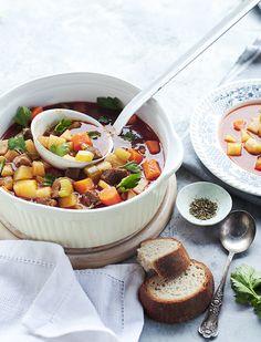 Marhahúsos minestrone - gulyásleves másképp Food, Essen, Meals, Yemek, Eten