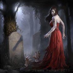 Zombies Artwork by James Ryman | Cuded