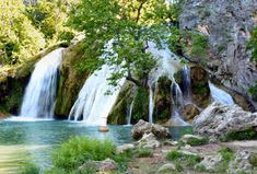 Oklahoma  Turner Falls Park  Davis  Home to the tallest waterfall in the state, Turner Falls Park is a pristine 1,500 acre nature preserve with trails, caves and even a big ol' abandoned castle that was built in the '30s.