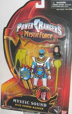 Action Figure Boxes - Power Rangers Mystic Sound