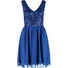Even&Odd Sukienka koktajlowa royal blue