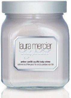 Laura Mercier Body & Bath - Ambre Vanilla Souffle Body Creme 6 oz. NEW! Tester