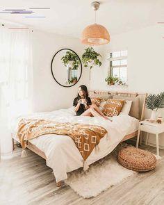 IKEA Bedroom Makeover For Under $600 ♕ insta and pinterest @amymckeown5