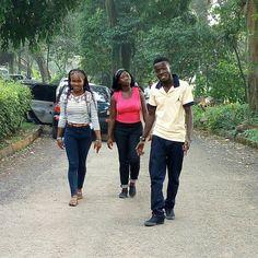 "...when u got ""Naggers"" behind u...  #holiday  #aburi botanical  gardens #accra #ghana by goodkid_born_sinner"