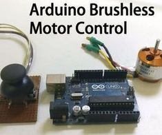 Controlling Brushless Motor With Arduino - Rc planes - Hobbies For Couples, Cheap Hobbies, Hobbies To Try, Hobbies That Make Money, Brushless Motor Controller, Arduino Programming, Arduino Wireless, Cnc Software, Ideas