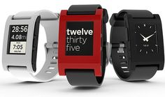The Pebble E-Ink Watch