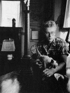 James Dean & Marcus the cat