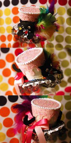 Nyan Cat Mini Top Hat by NoFlutter on DeviantArt
