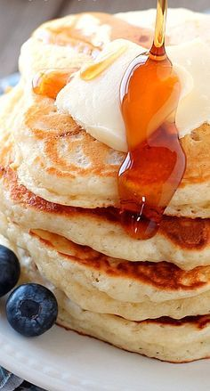 Buttermilk Pancakes - made these this morning and they were the fluffiest pancakes I've ever made!!!